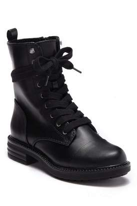 Report Nina Lace Up Combat Bootie