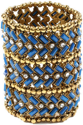 Amrita Singh Crystal & Resin Stretch Bracelet