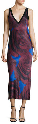 DKNY Dkny V-Neck Sleeveless Dress