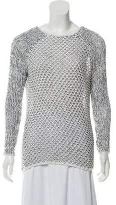 Helmut Lang Open-Knit Oversize Sweater