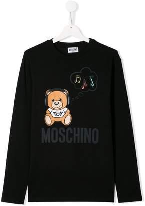 Moschino Kids teddy bear T-shirt