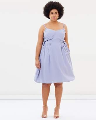 Cami Tie Side Dress