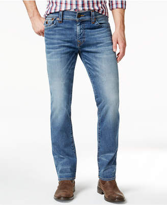 True Religion Men's Ricky Relaxed-Straight-Fit Stretch Flagstone Jeans