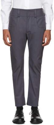 St-Henri SSENSE Exclusive Grey Baseball Trousers