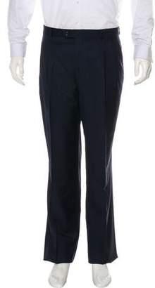 Hickey Freeman Tasmanian Wool Pleated Pants w/ Tags
