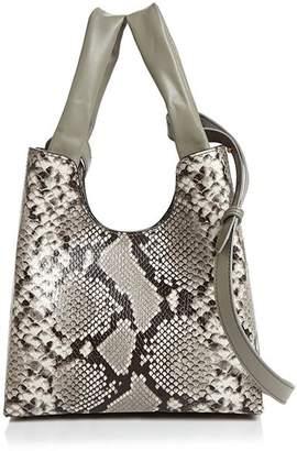 Elleme Snake-Print Shoulder Bag