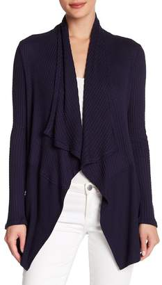Velvet by Graham & Spencer Bertha Draped Cardigan