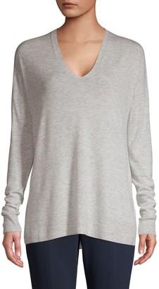Vince Oversized Wool-Blend Pullover