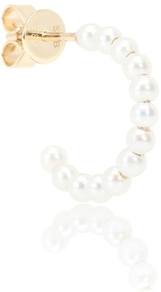 Sophie Bille Brahe Marco 14kt gold pearl single earring