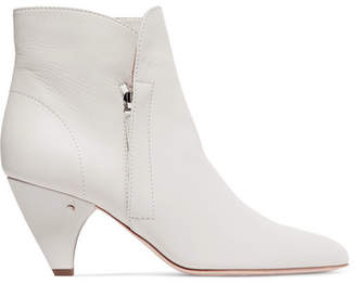 Laurence Dacade Stella Leather Ankle Boots - White