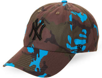 '47 New York Yankees Neon Camo Cleanup Cap