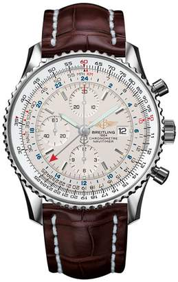 Breitling Navitimer World Automatic Travel Watch 46mm