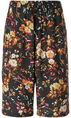 McQ floral print shorts