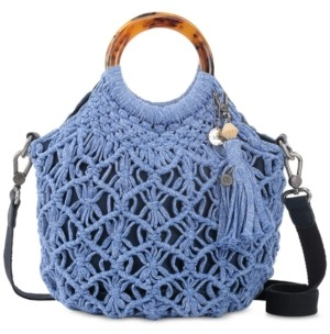 The Sak Helena Crochet Circle Handle Crossbody