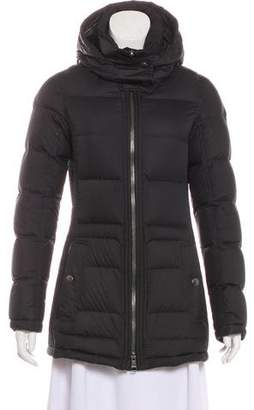 Burberry Nova Check-Lined Down Jacket