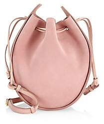 The Row Women's Drawstring Suede Pouch