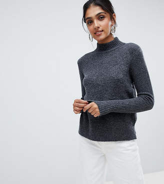 Y.A.S Tall high neck knitted sweater