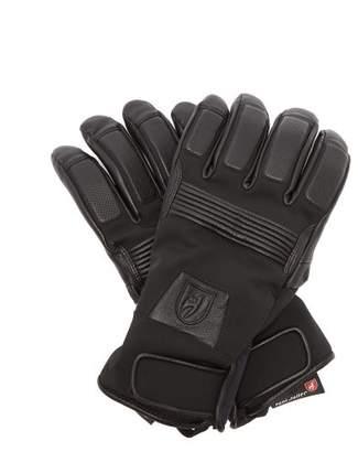 Toni Sailer - Dane Leather Trimmed Ski Gloves - Mens - Black
