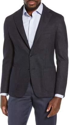 Luciano Barbera Trim Fit Cotton Blend Blazer