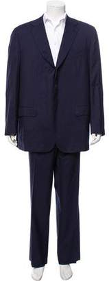 Kiton Pinstriped Cashmere Suit
