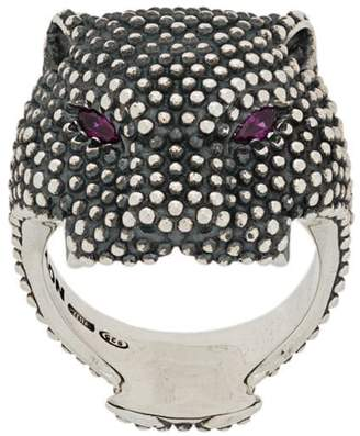 Nove25 Dotted Panther ring