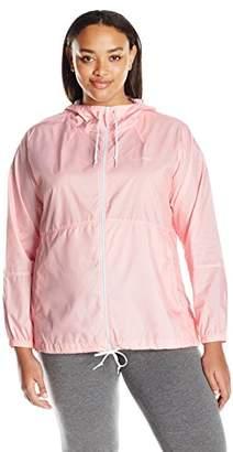 Columbia Women's Plus Size Flash Forward Printed Windbreaker Jacket