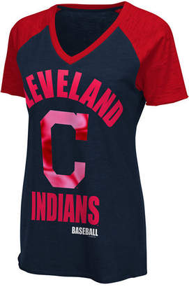 G-iii Sports Women's Cleveland Indians Game On T-Shirt