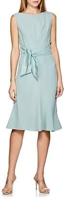 Alberta Ferretti WOMEN'S SELF-TIE CREPE DRESS