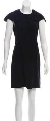 Prada Capped-Sleeve Dress