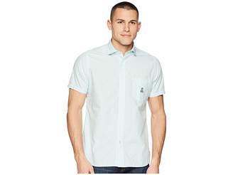 Psycho Bunny Short Sleeve Cotton Sport Shirt Men's Short Sleeve Pullover