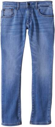 DL1961 Kids Brady Light Wash Slim Leg Knit Jeans in Gondola Boy's Jeans