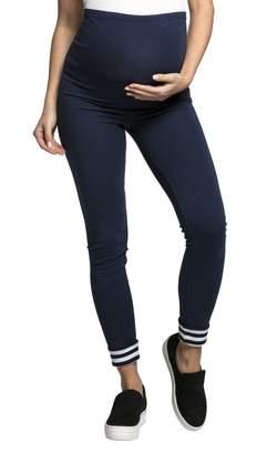 HAPPY MAMA - Womens Maternity Elastic Pants Leggings Waistband - 126c (