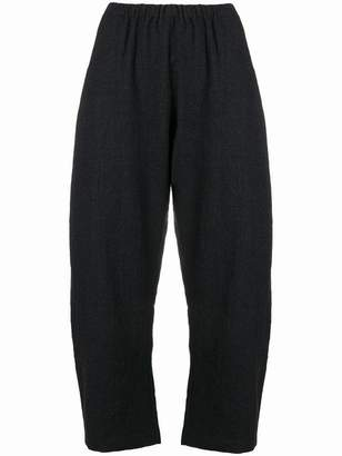 Apuntob loose fit tapered trousers