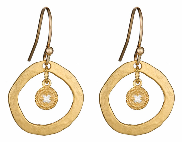 Avindy Designs Diamond Dangle Earrings