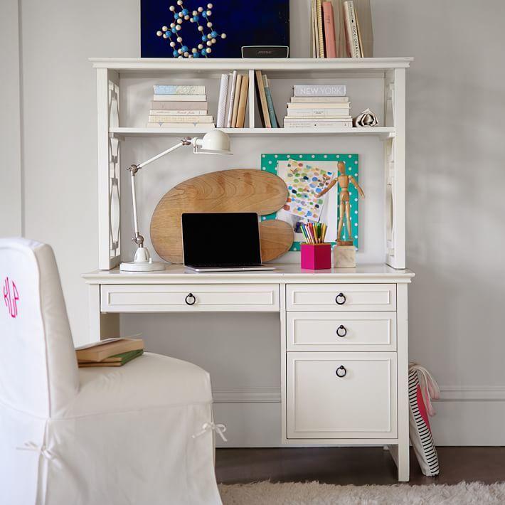STUDY Elsie Desk + Hutch