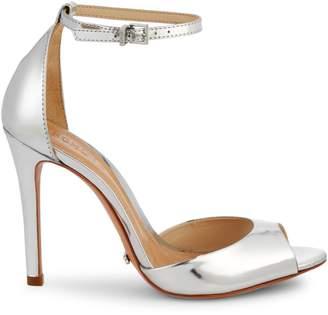 Schutz Sasha Lee Metallic Sandals