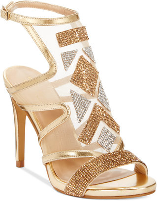 Thalia Sodi Regalo Embellished Sandals, Only at Macy's $99.50 thestylecure.com