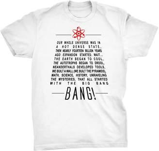 Theory Pixelated Jetstream Big Bang Lyrics T-Shirt (, M)