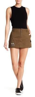 Muche et Muchette Revolution Patched Utility Miniskirt