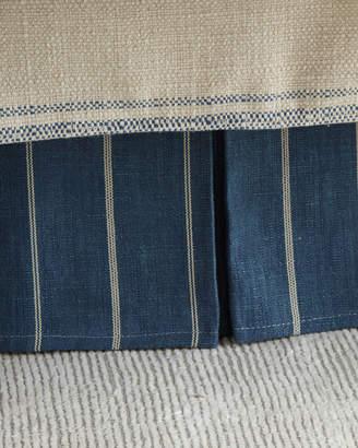 French Laundry Home Lauren Flat Flange King Dust Skirt