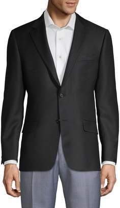 Hickey Freeman Classic Notch Wool Jacket