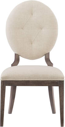 Bernhardt Pair of Clarendon Oval-Back Side Chairs