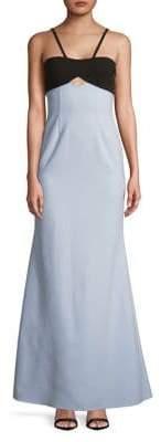 Jill Stuart Cutout Empire Trumpet Gown