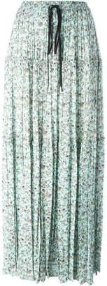 Chloé floral print maxi skirt