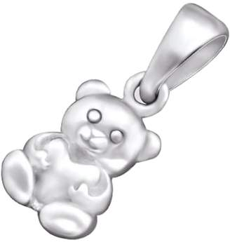So Chic Jewels - 925 Sterling Bear Pendant