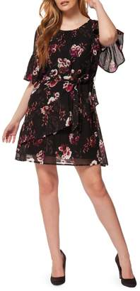 Dex Printed Tiered Sun Dress
