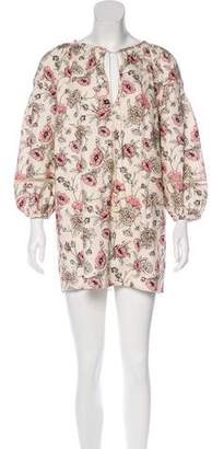 Vilshenko Andina Linen Mini Dress w/ Tags