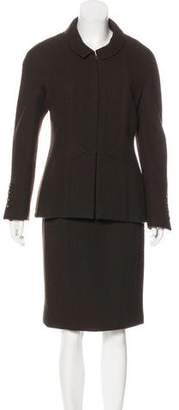 Chanel Tweed Dress Set