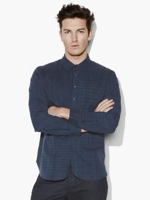 John Varvatos Classic Fit Plaid Shirt