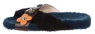 Fendi Flowerland Slide Sandals